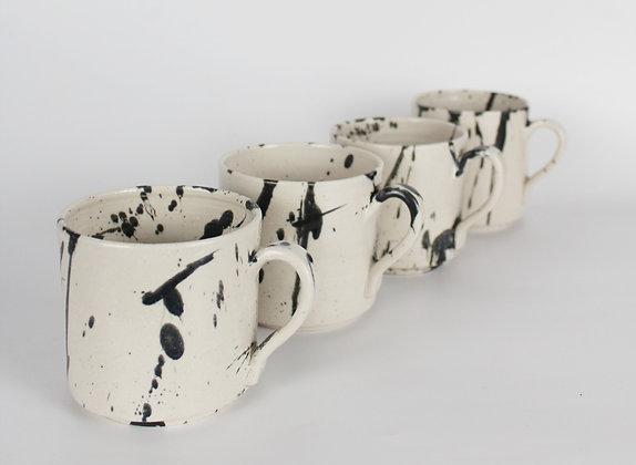 Black splash Mugs
