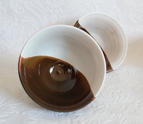 Brown & White Bowl