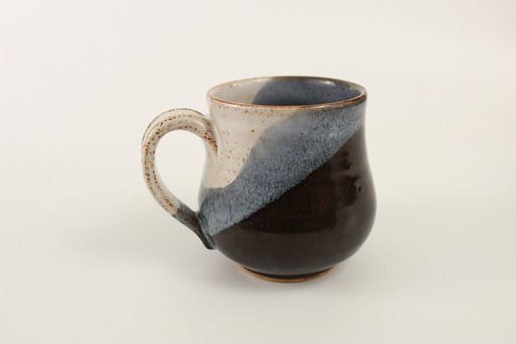 Owens Blue and cream Mug