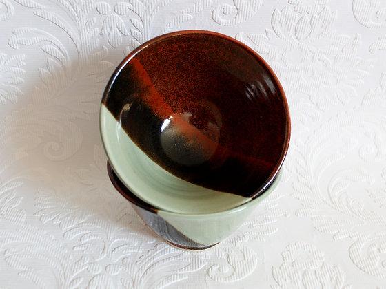 T-red & Celadon - Bowl