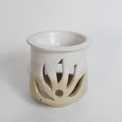Beige and White - Oil-burner