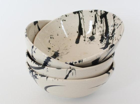 Black Splash Bowls