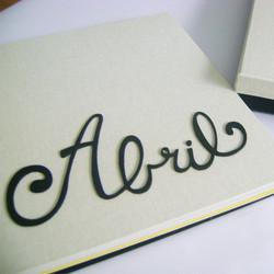 Lettering en madera