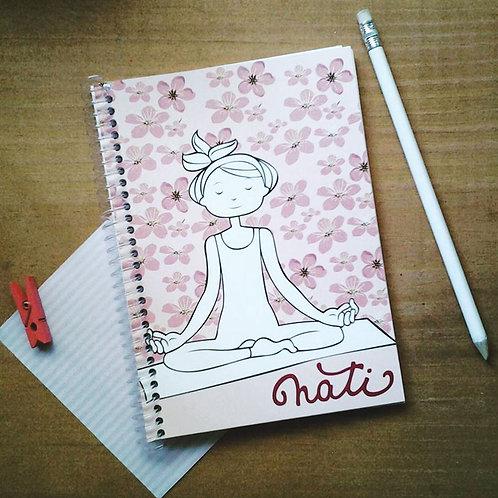 Cuaderno con ilustración personalizada