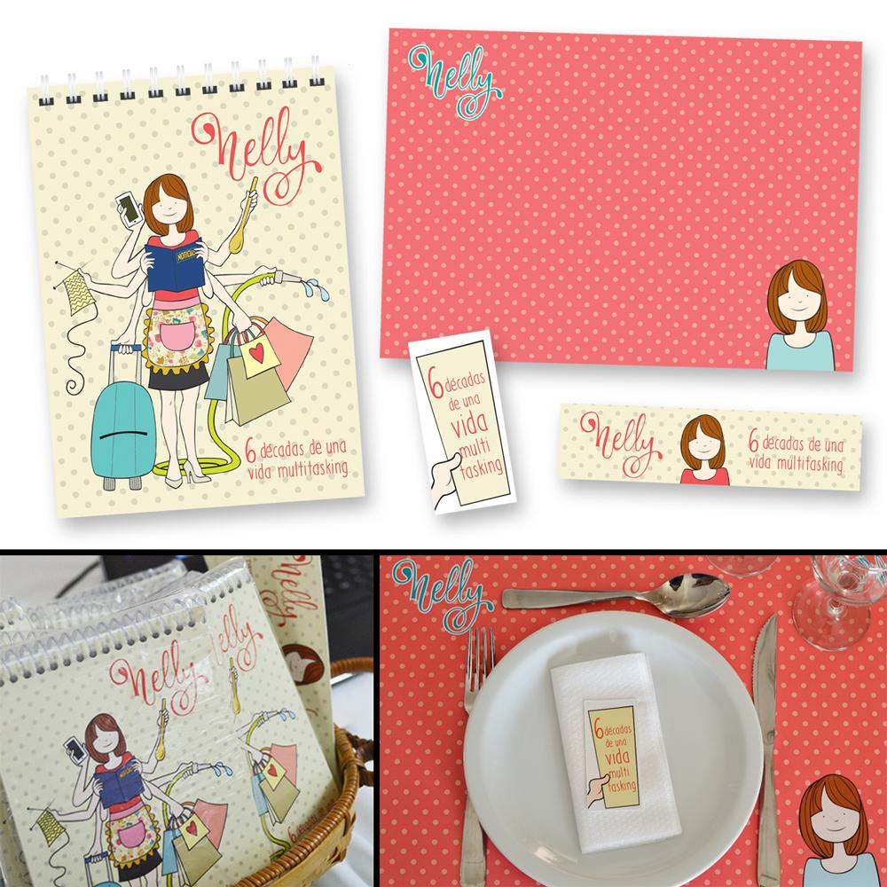 Souvenirs y decoración cumpleaños