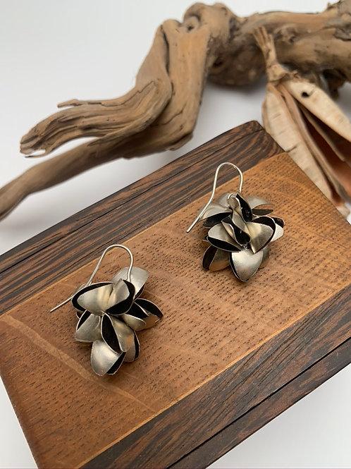 Big pod earrings