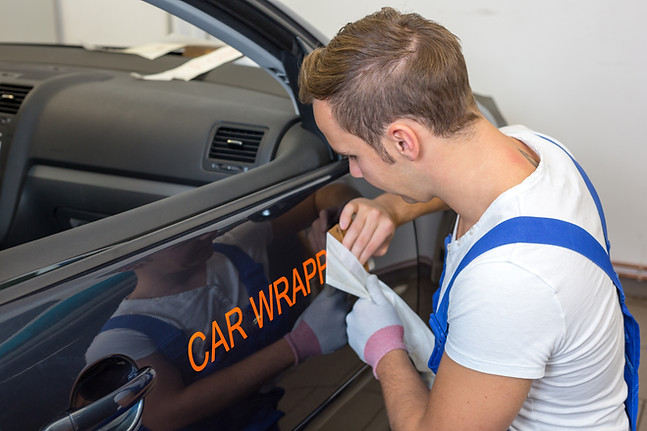 car lettering