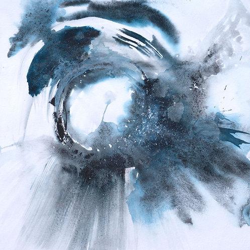 Blue Haze (framed Fine Art Print)
