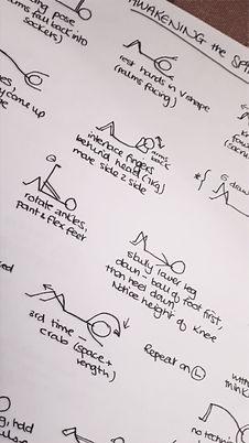 yoga session plan