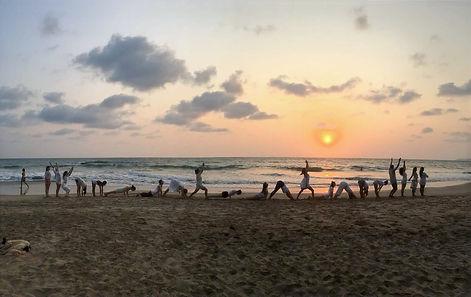 Sun salutation, Agonda beach 2017.jpg