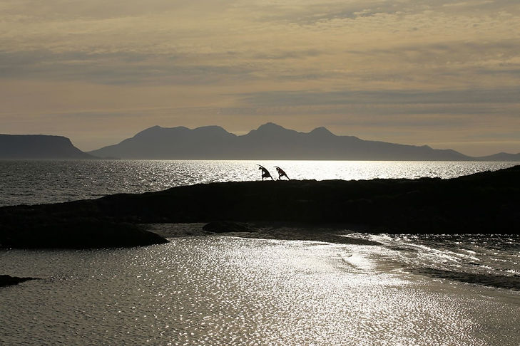 yoga with friends in Arisaig.jpg
