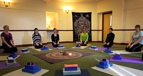 Yoga Class at Brathay