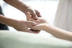 Thai Yoga hand massage