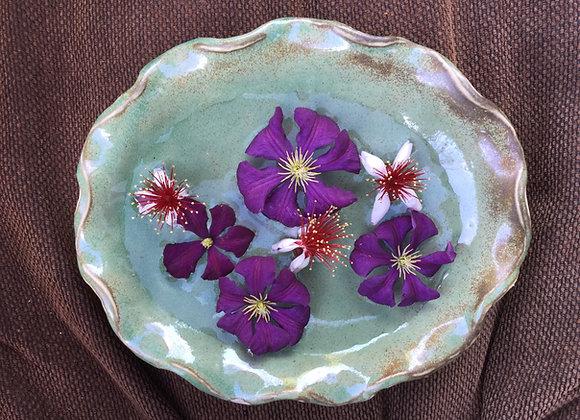 Stoneware Flower bowl