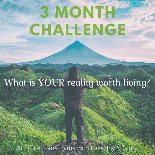 3 Month Challenge
