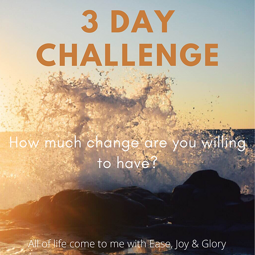3 Day Challenge