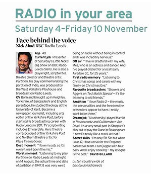 I'm in the Radio Times!_Soraya Jane Smit
