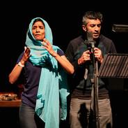 Balvinder Sopal (Amina) and Sushil Chuda