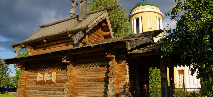 """Музей деревянного зодчества. Проект """"Новое старое"""""""