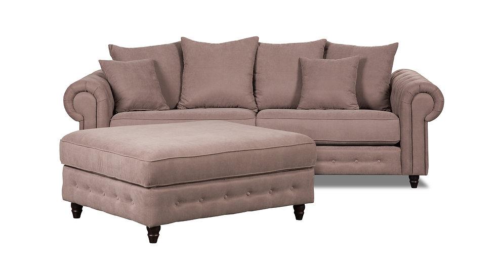 RAMONA sofa+pufas