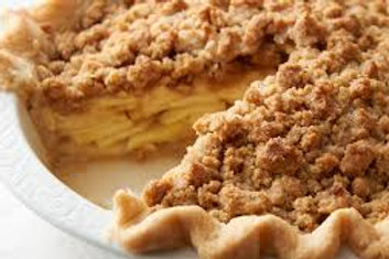 Homemade Apple Crumb Pie: Pre-Order ONLY