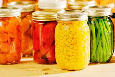 Barbies Jarred Fruits and Vegetables