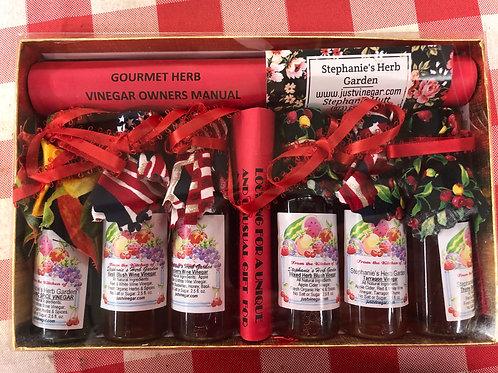 Local Herbal Vinegar