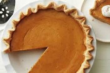 Homemade Pumpkin Pie: Pre-Order ONLY