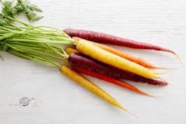 Carrots, rainbow