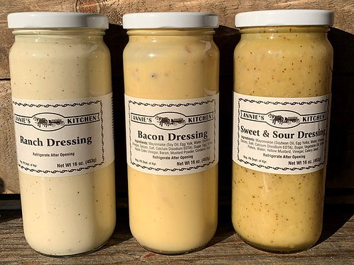Annie's Kitchen Amish  Dressings
