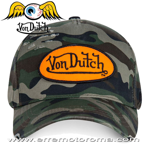 bda1dd8f2b2d3 VON DUTCH BASEBALL CAP CAMO