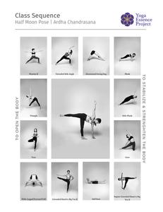 Ardha Chandrasana | Half Moon Pose Yoga Sequence