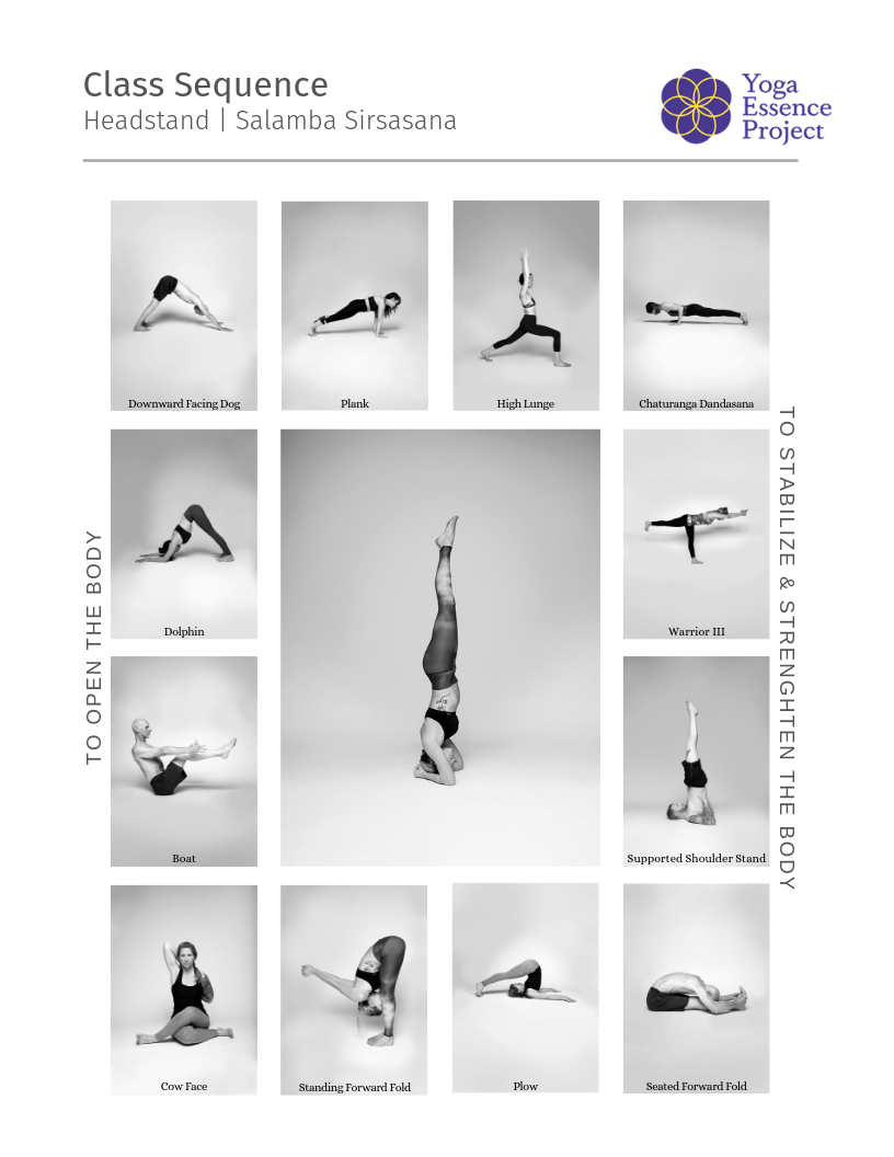 Headstand Yoga Sequence