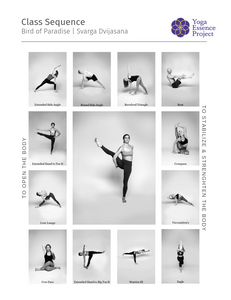 Peak pose yoga sequence
