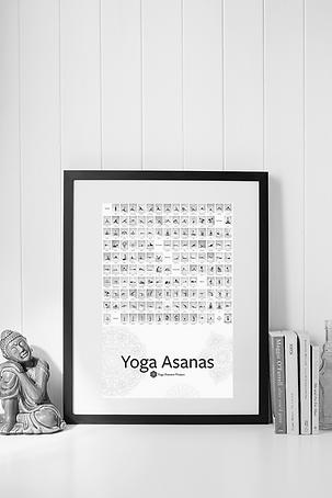 The Yoga Asana Poster