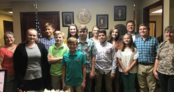 Visit with Senator Arthur Orr