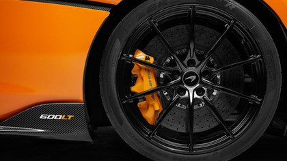 Mclaren 600LT rear wheel