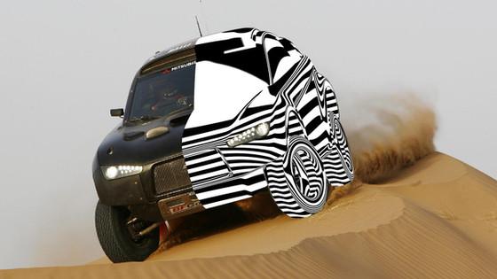 Mitsubishi paris Dakar 2009
