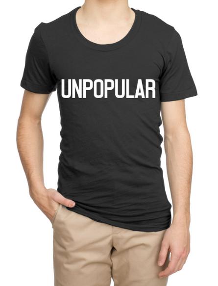 UNPOPULAR T-Shirt (Adult)