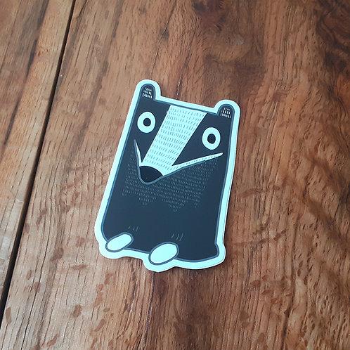 Badger Sticker - Large