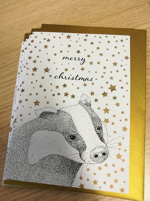 All That Glitters - Card White
