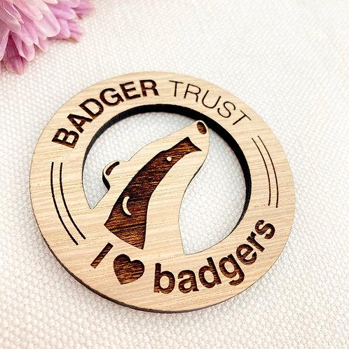 Badger Trust Magnet