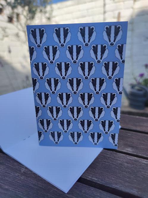 Blue Badger A6 Notebook
