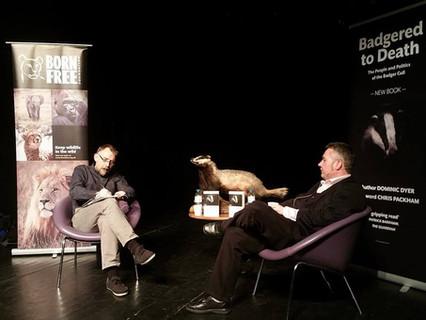 Badgers in the spotlight at Horsham Theatre