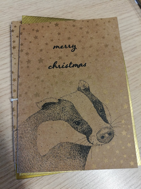 All That Glitters - Card Brown