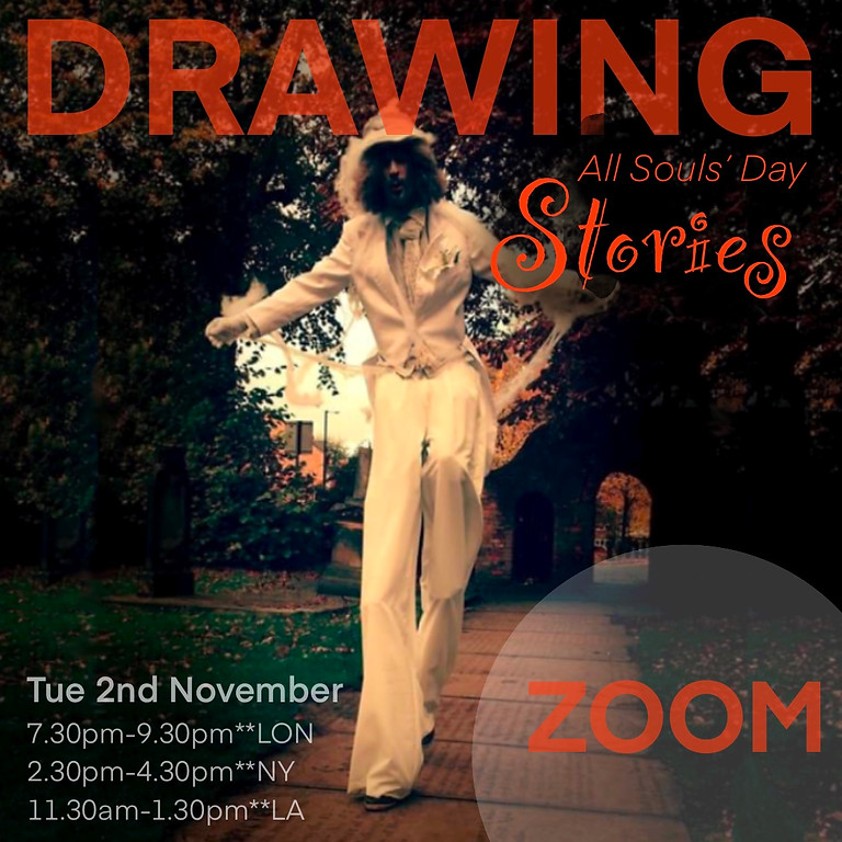 Drawing All Souls' Day Stories **Zoom