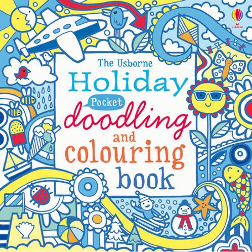 Holiday Pocket Doodling Book