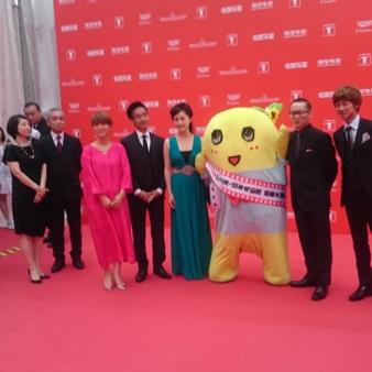 上海国際映画祭にふなっしーレッドカーペット