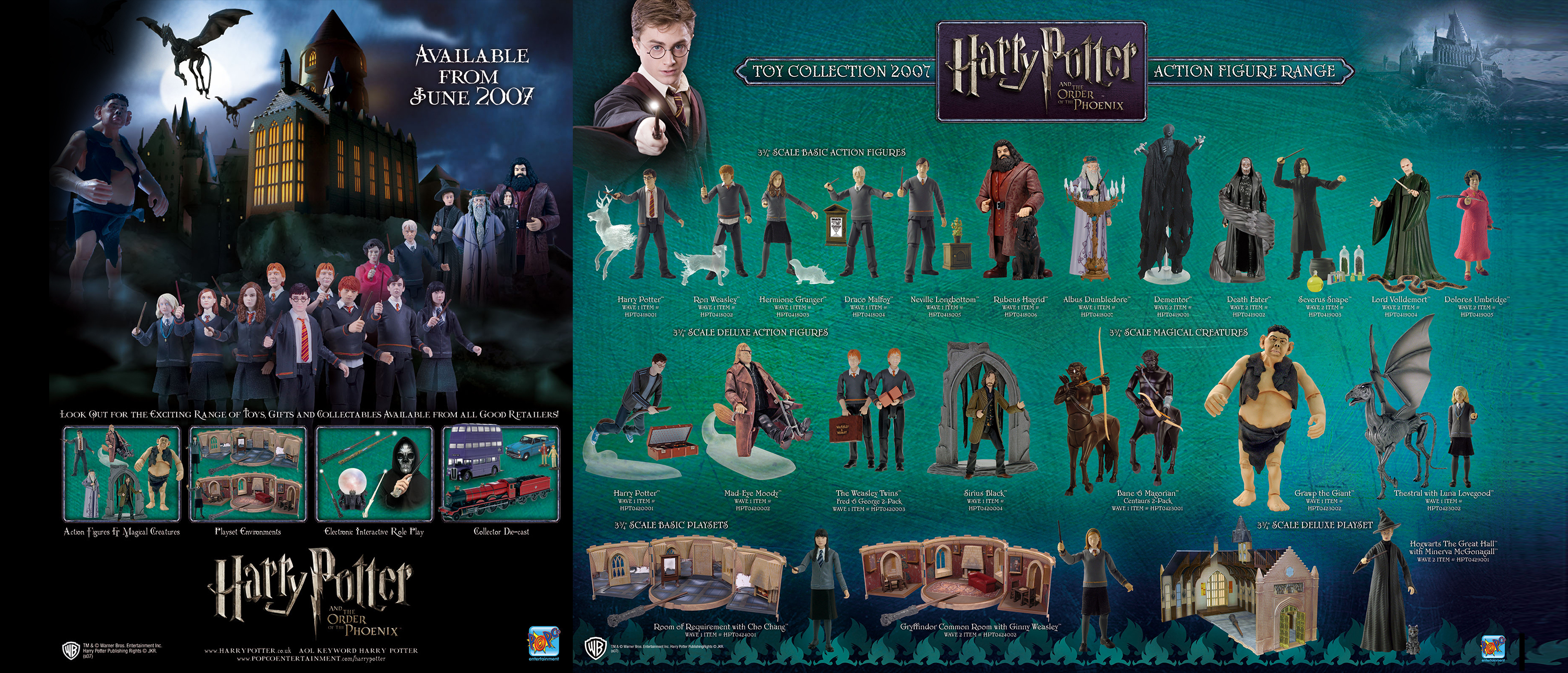 harry potter action figures and playset image 09