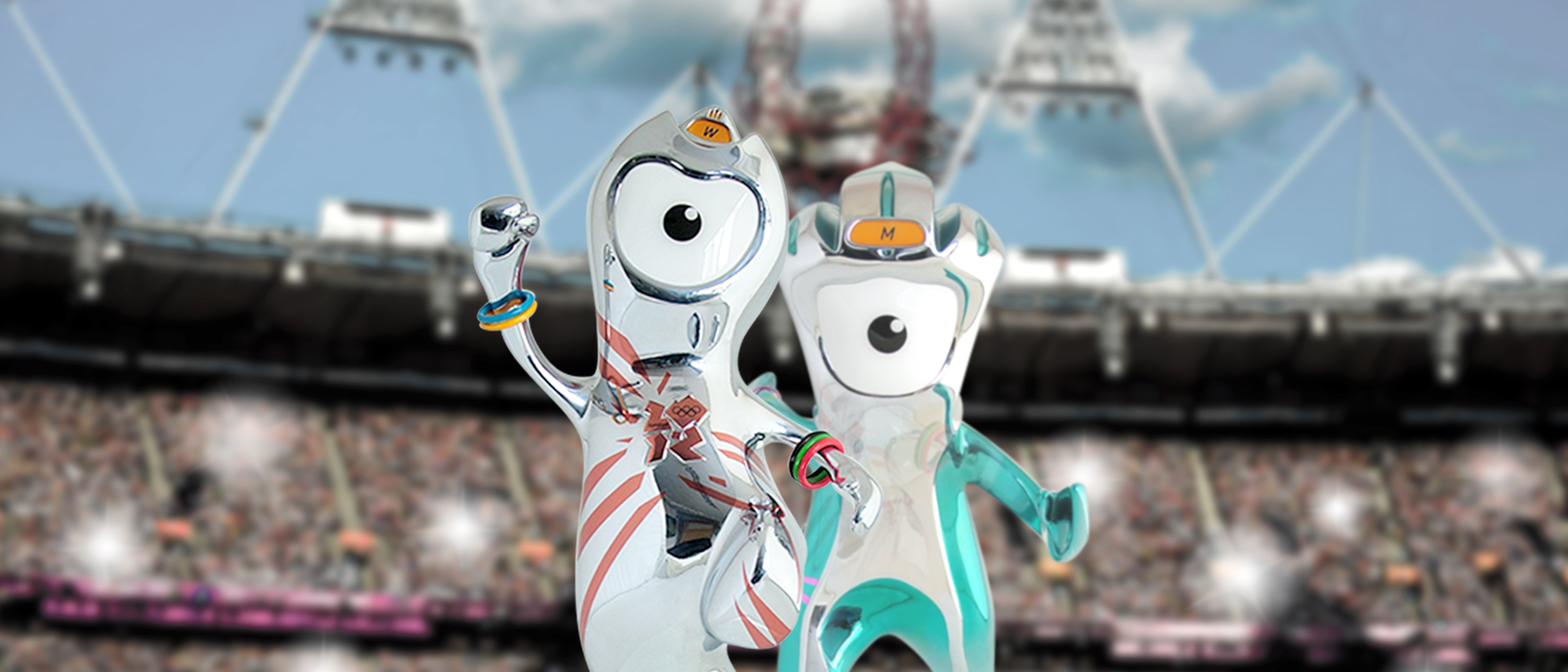 Sculptworks London Olympic Mascots